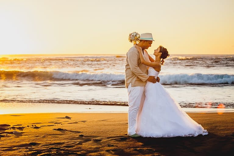 Mariage laïque a Etang Salé Réunion